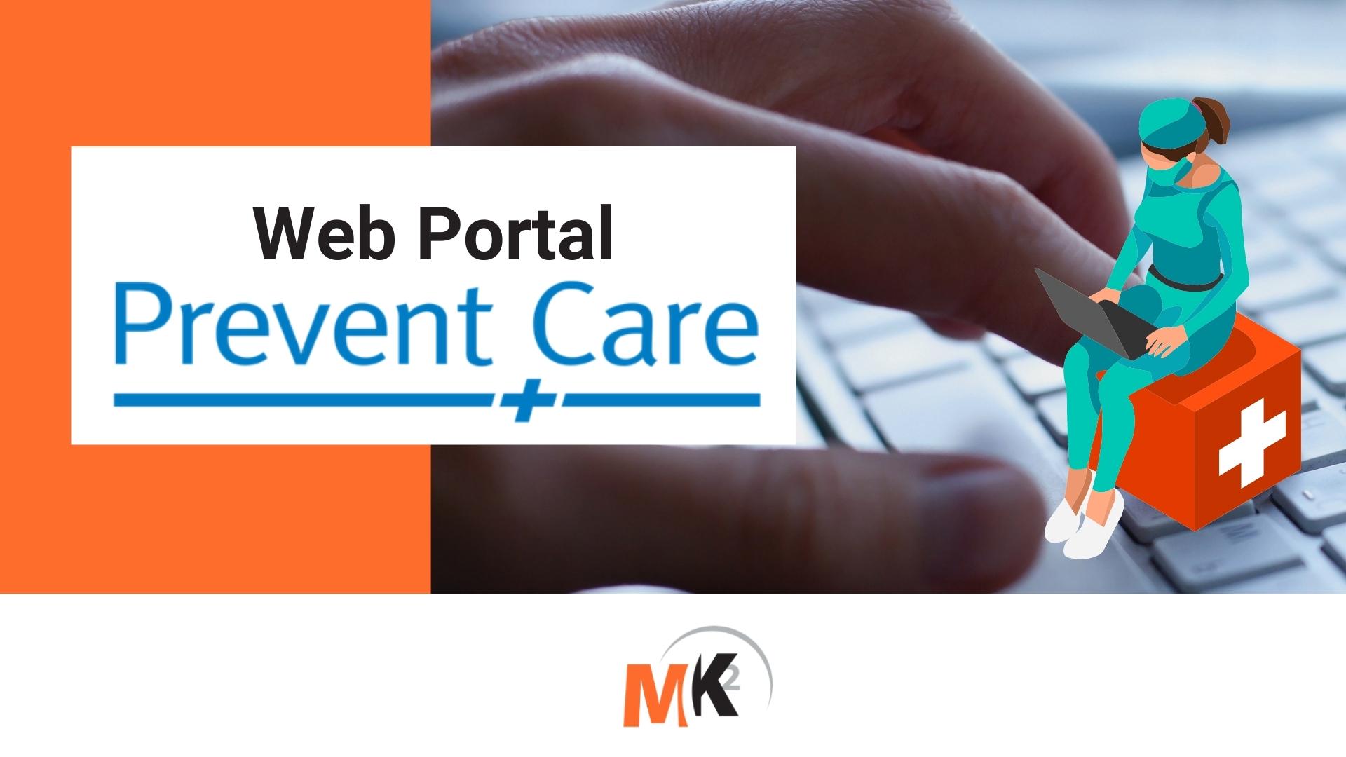 Prevent Care - Web Portal - Banner Mk2 Software