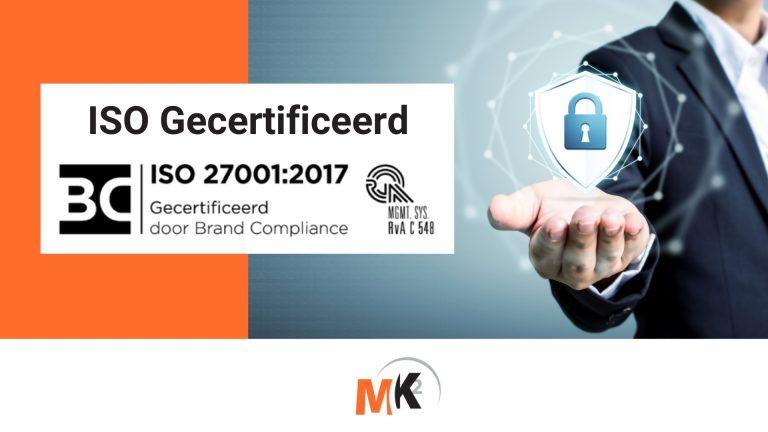 ISO Gecertificeerd 270012017 Norm v2