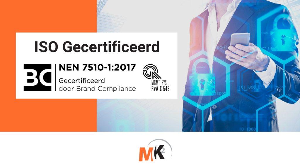 Banner ISO 7510-1 2017 certificaat