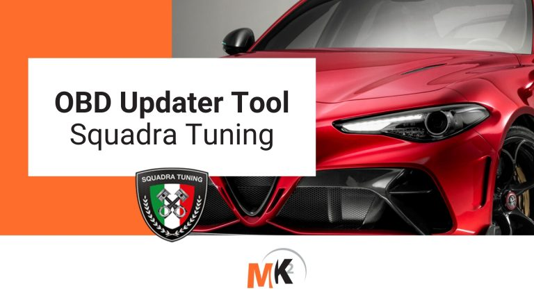Squadra Tuning - OBD Updater Tool - Banner Mk2 Software